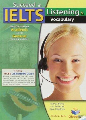 Succeed in IELTS. Listening & Vocabulary - okładka podręcznika