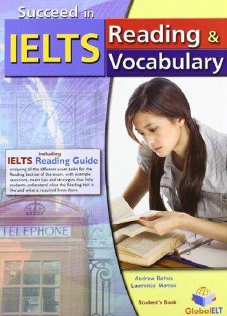 Succeed in IELTS. Reading & Vocabulary - okładka podręcznika
