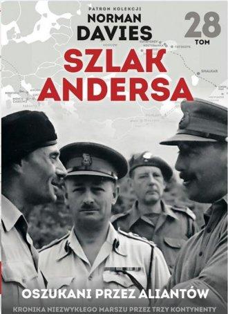 Szlak Andersa 28. Oszukani przez - okładka książki
