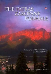 Tatry, Zakopane, Podhale B5 (wersja ang.) - okładka książki