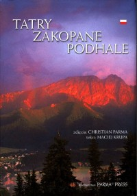 Tatry, Zakopane, Podhale B5 (wersja pol.) - okładka książki