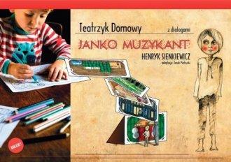 Teatrzyk domowy Janko Muzykant - okładka książki