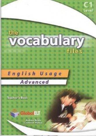 The Vocabulary Files Advanced. - okładka podręcznika