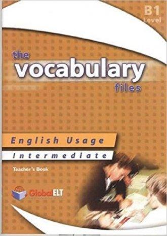 The Vocabulary Files Intermediate. - okładka podręcznika