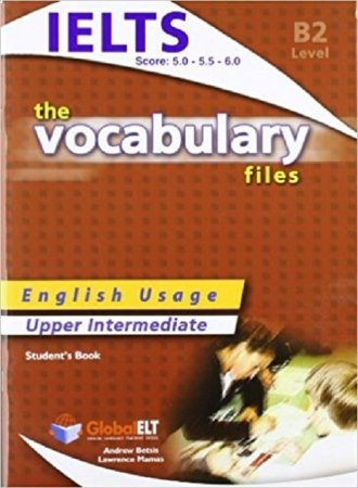 The Vocabulary Files Upper Intermediate. - okładka podręcznika