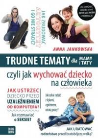 Trudne tematy dla mamy i taty - okładka książki