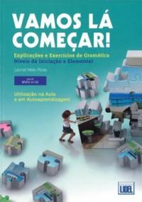 Vamos la comecar exercicios de gramatica nives A1/A2 - okładka podręcznika