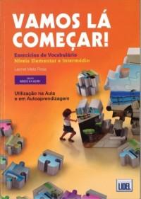 Vamos la comecar exercicios de vocabulario niveis A1/A2/B1 - okładka podręcznika