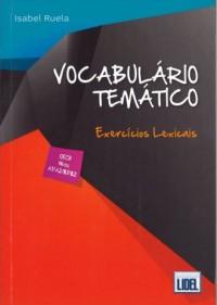 Vocabulario tematico exercicios lexicais książka z kluczem - okładka podręcznika