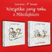 Wszystkie pory roku z Mikołajkiem. PAKIET - okładka książki