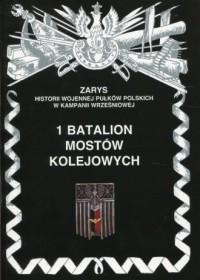 1 Batalion mostów kolejowych. Seria: Zarys historii wojennej pułków polskich w Kampanii Wrześniowej - okładka książki