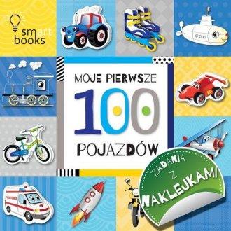 100 pojazdów. Moje pierwsze zadania - okładka książki