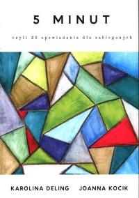 5 minut. czyli 23 opowiadania dla zabieganych - okładka książki