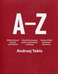 A-Z Słownik ilustrowany języka niemieckiego i polskiego - okładka książki