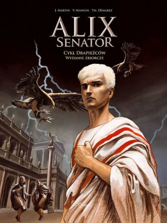 Alix Senator. Wydanie zbiorcze.Tom - okładka książki