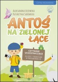 Antoś na zielonej łące. Czytanie uczestniczące dla dzieci z trudnościami w porozumiewaniu się - okładka książki