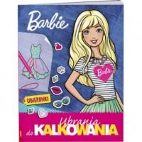 Barbie. Ubrania do kalkowania - okładka książki