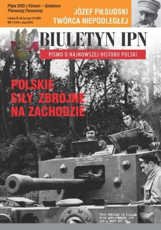 Biuletyn IPN nr 150 (5) / 2018 - okładka książki