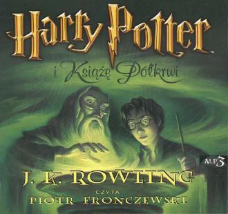 Harry Potter i Książe Półkrwi. - pudełko audiobooku