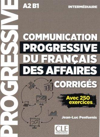 Communication progressive du francais - okładka podręcznika