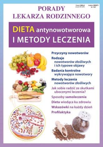 Diet antynowotworowa i metody leczenia - okładka książki