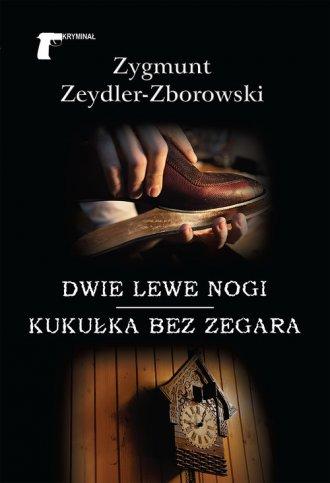 Dwie lewe nogi - okładka książki