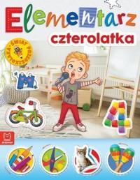 Elementarz 4-latka. Świat przedszkolaka - okładka książki