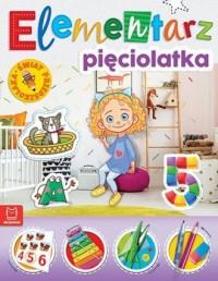 Elementarz 5-latka. Świat przedszkolaka - okładka książki