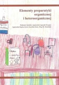 Elementy preparatyki organicznej i heteroorganicznej - okładka książki