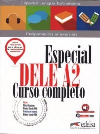 Especial DELE A2 curso completo Podręcznik - okładka podręcznika