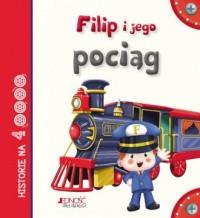 Filip i jego pociąg - okładka książki