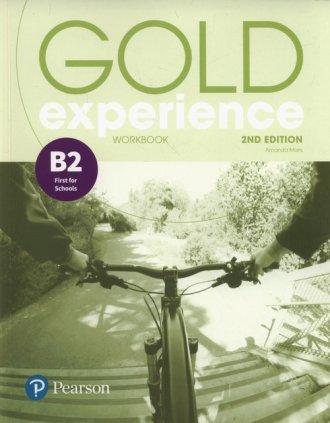 Gold Experience 2ed B2. Workbook - okładka podręcznika