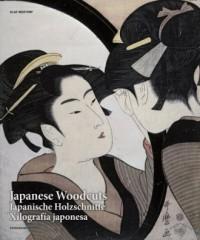 Japanese Woodcuts - okładka książki