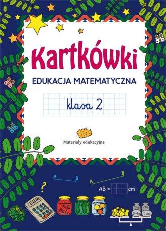 Kartkówki. Edukacja matematyczna. - okładka podręcznika
