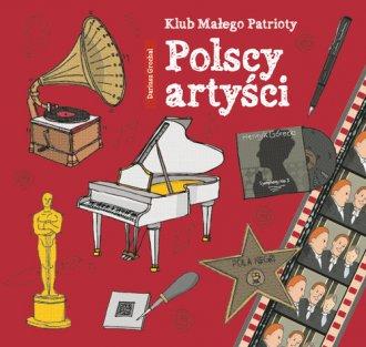 Klub małego patrioty. Polscy artyści - okładka książki