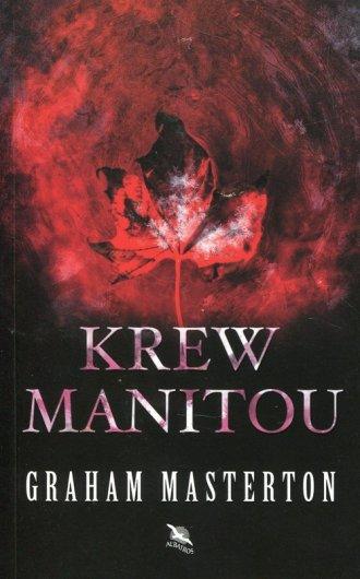 Krew Manitou - okładka książki