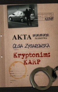 Kryptonim: KARP - okładka książki