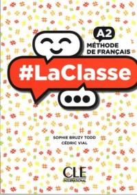 La Classe A2. Książka (+ DVD) - okładka podręcznika