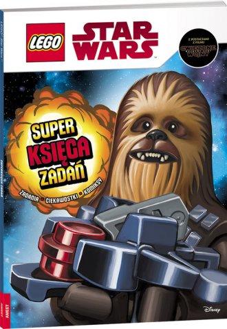 Lego Star Wars. Superksięga zadań - okładka książki