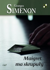 Maigret ma skrupuły - Georges Simenon - okładka książki