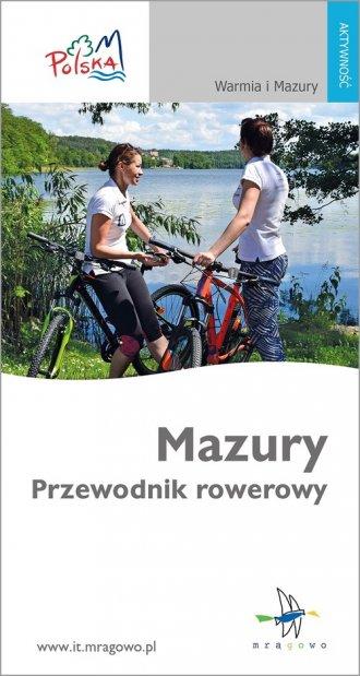 Mazury. Przewodnik rowerowy - okładka książki