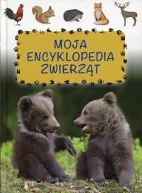 Moja encyklopedia zwierząt - okładka książki