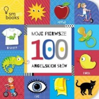 Moje pierwsze 100 angielskich słów - okładka książki