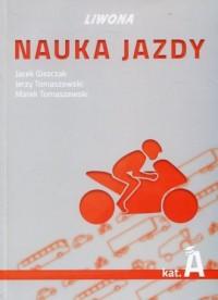 Nauka jazdy kat. A .Podręcznik - okładka książki