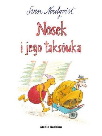 Nosek i jego taksówka - okładka książki