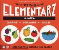 Nowy elementarz 6-latka - okładka książki