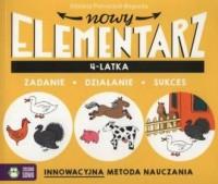 Nowy elementarz 4-latka - okładka książki