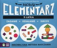 Nowy elementarz 5-latka - okładka książki