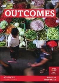 Outcomes Advanced Students Book + myELT z płytą DVD - okładka podręcznika