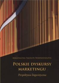 Polskie dyskursy marketingu. Perspektywa lingwistyczna - okładka książki